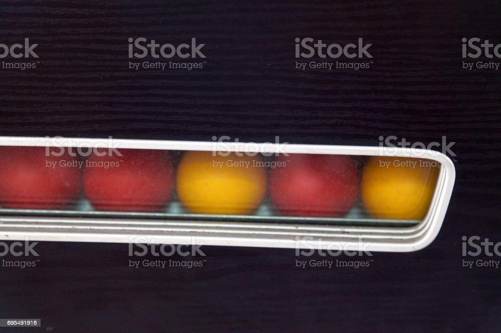 Blackball (pool) stock photo