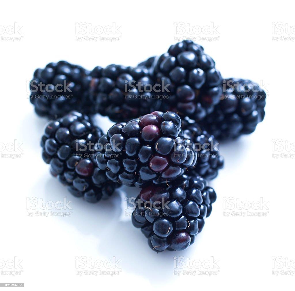 Blackberries royalty-free stock photo