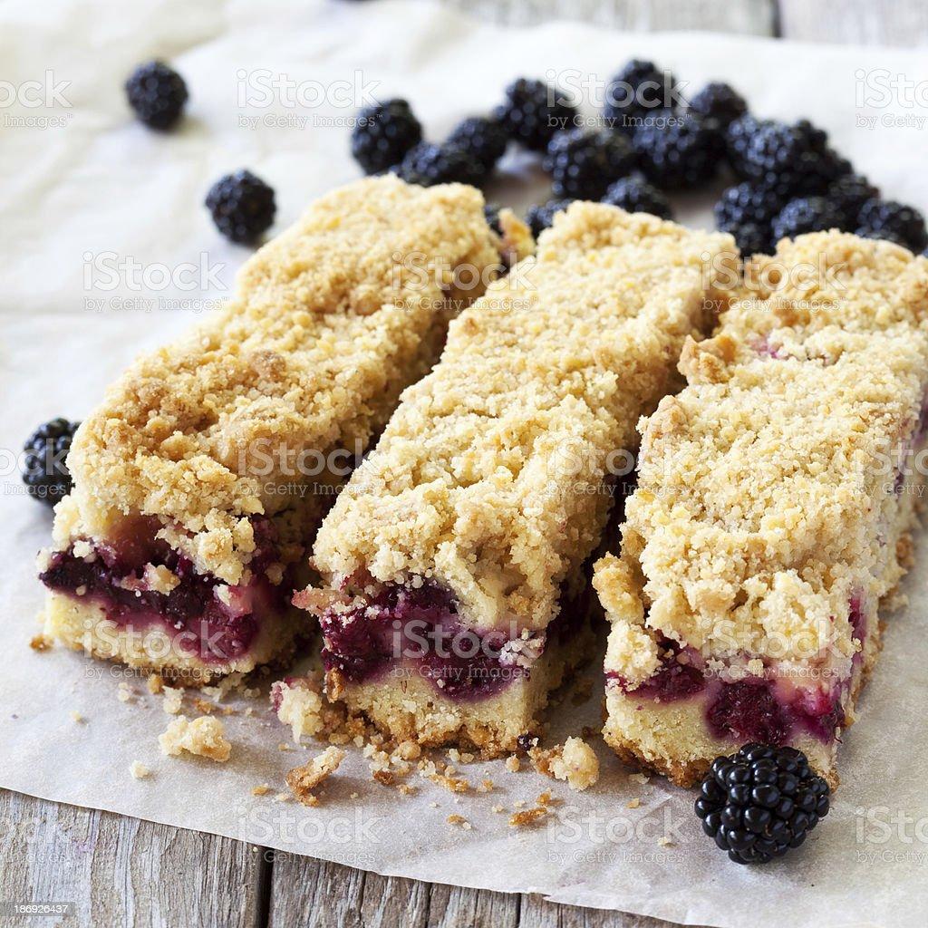 Blackberry bar stock photo