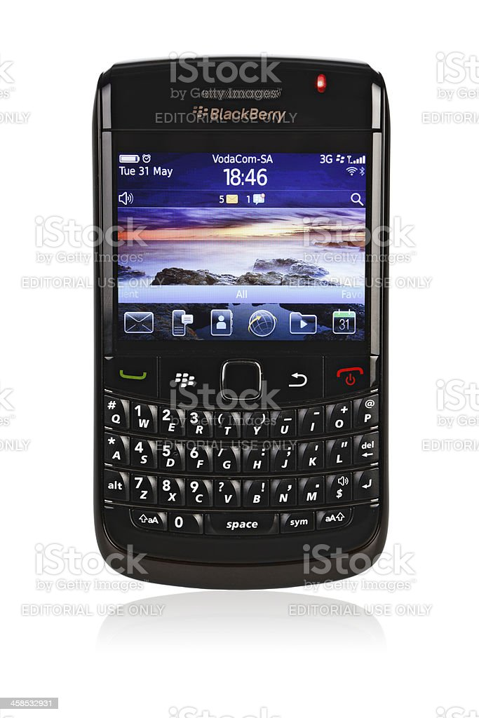 Blackberry Bold 9780 royalty-free stock photo