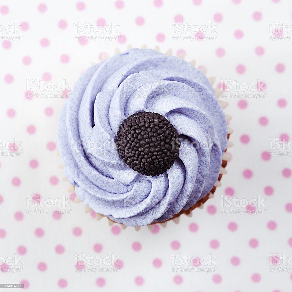 Blackberry Cupcake royalty-free stock photo