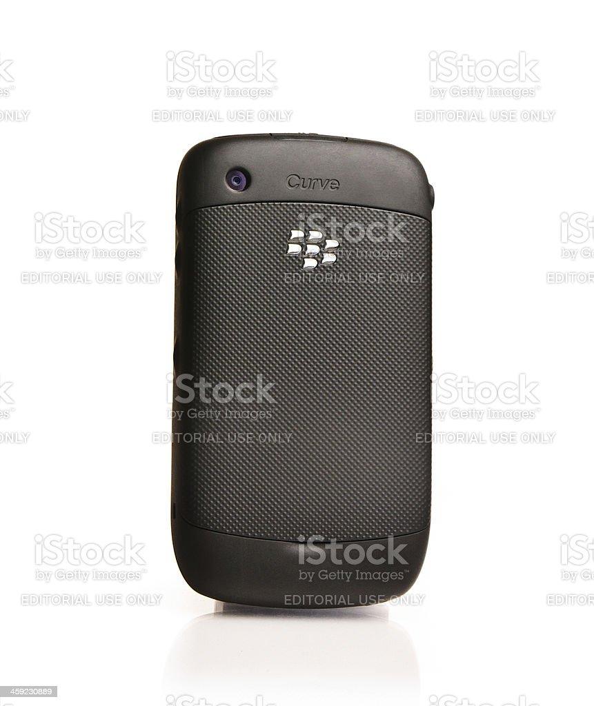 Blackberry Curve Back Side royalty-free stock photo
