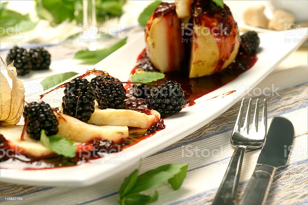 Blackberry Desert royalty-free stock photo
