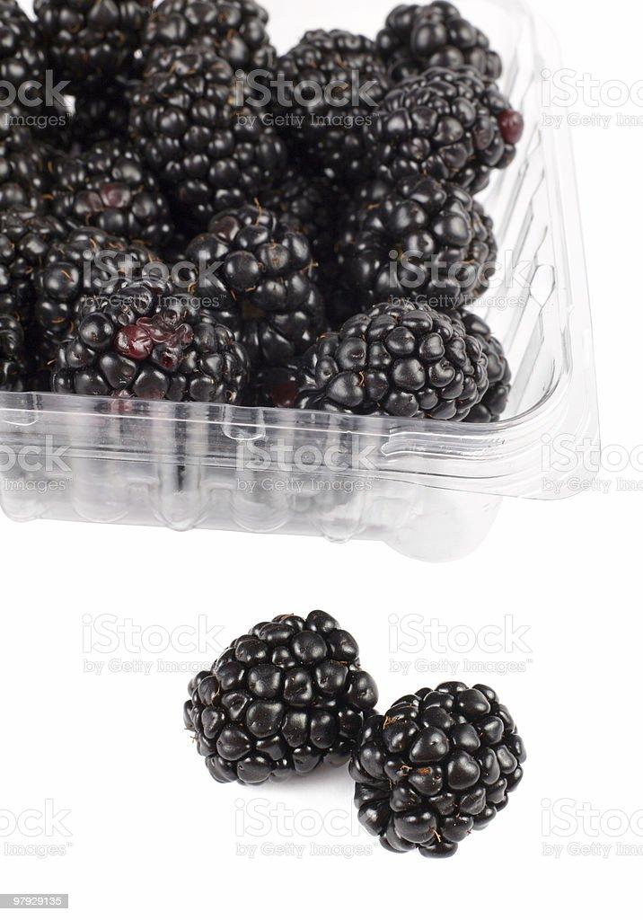Blackberry fruit royalty-free stock photo