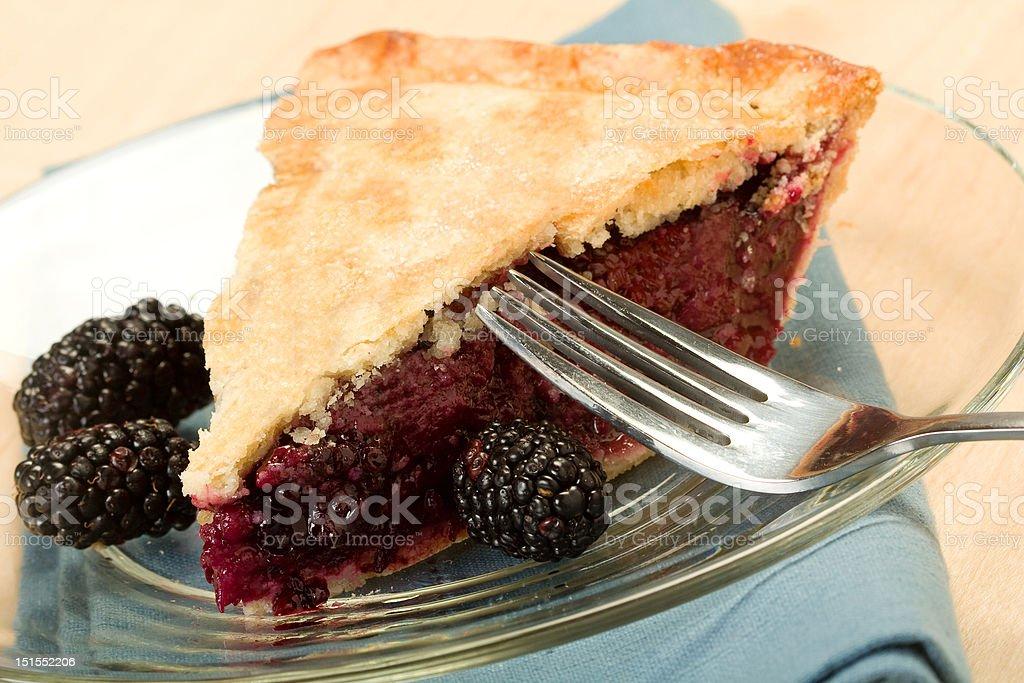 Blackberry Pie royalty-free stock photo