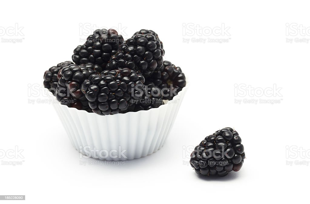 Blackberry Treat royalty-free stock photo