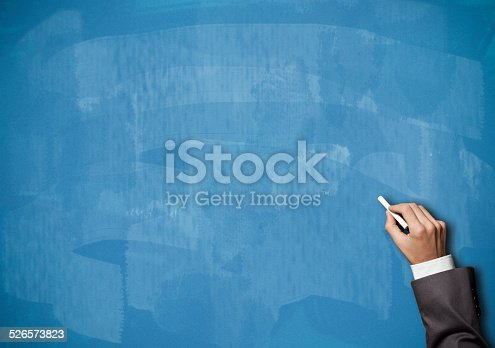 649719220istockphoto Blackboard / Blue Background (Click for more) 526573823