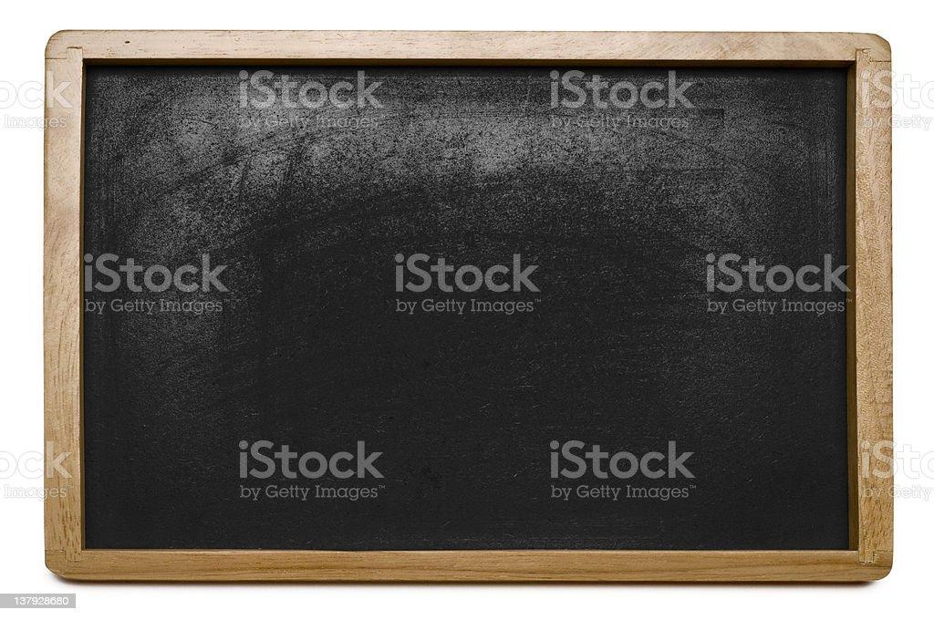 Blackboard, close-up royalty-free stock photo