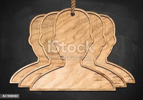 istock USERS / CUSTOMERS / Blackboard concept (Click for more) 847896562