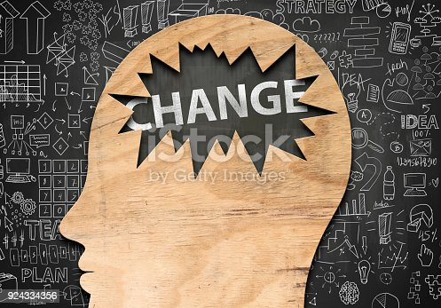 istock CHANGE / Blackboard concept (Click for more) 924334356