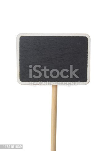 923869178 istock photo Blackboard label isolated 1175151639