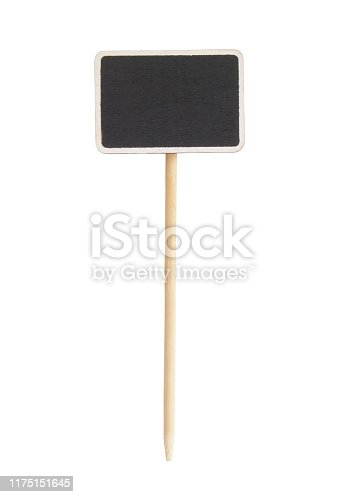 923869178 istock photo Blackboard label isolated 1175151645