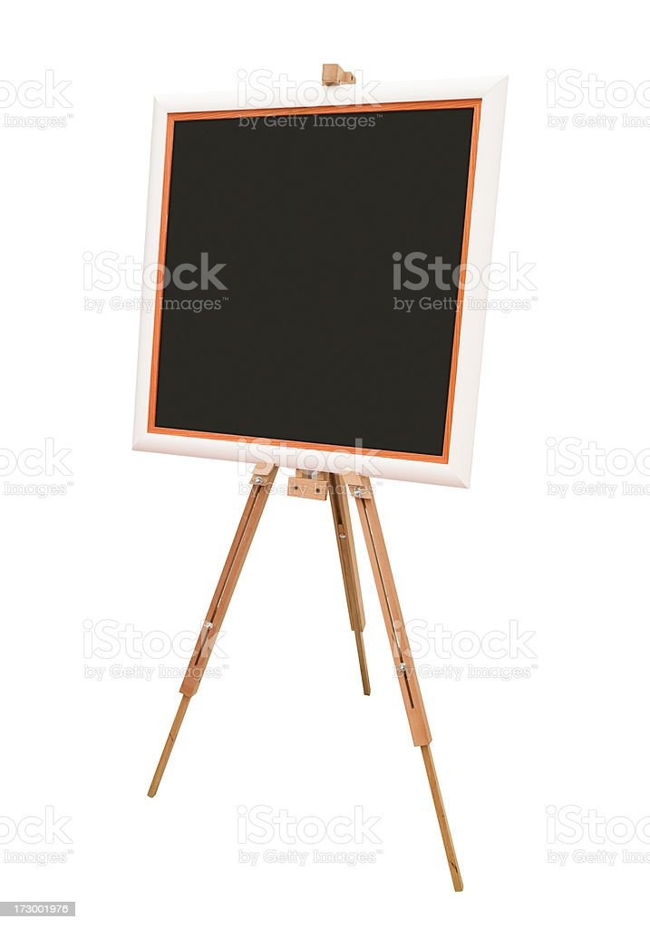 Blackboard (clipping path) royalty-free stock photo