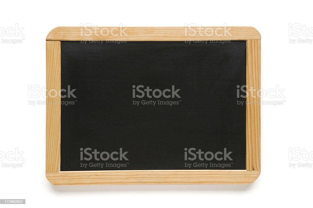 Blackboard slate royalty-free stock photo