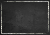チョークのボーダーと黒板