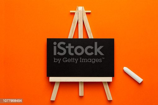 istock Blackboard with copy space 1077958454