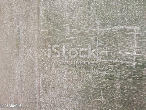 688090582 istock photo Blackboard with mathematical formulas. 1082304216