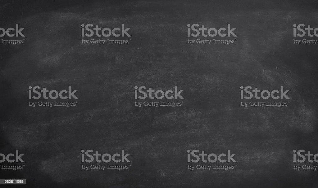 Blackboard with smudged chalk – Foto