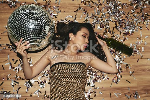istock Blacked out at party 1059048160