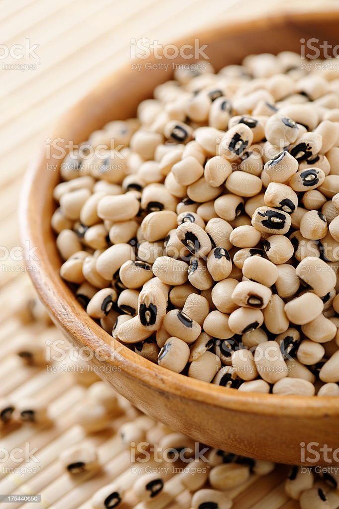 Black-eyed peas stock photo