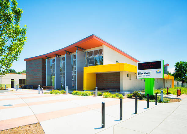 Blackford elementary school in Campbell Central California USA – Foto
