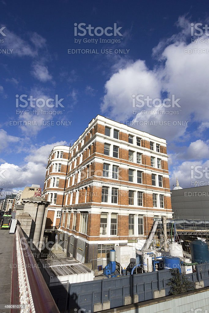 Blackfriars in London, England royalty-free stock photo
