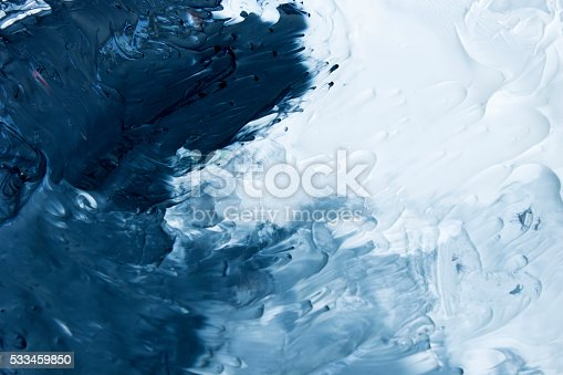 istock Black,Grey and White acrylic paint background 533459850