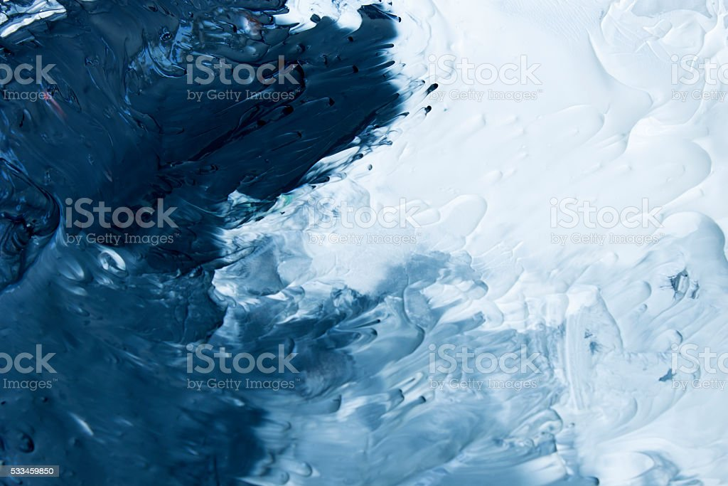 Black,Grey and White acrylic paint background stock photo