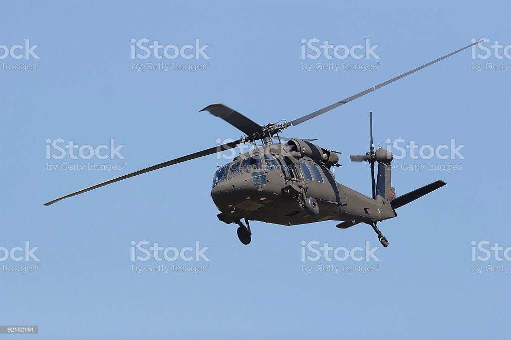 blackhawk low maneuvers stock photo