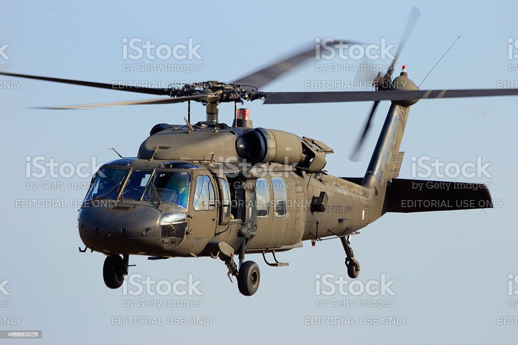 US Blackhawk stock photo