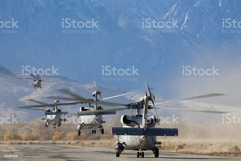 Blackhawks Launching stock photo