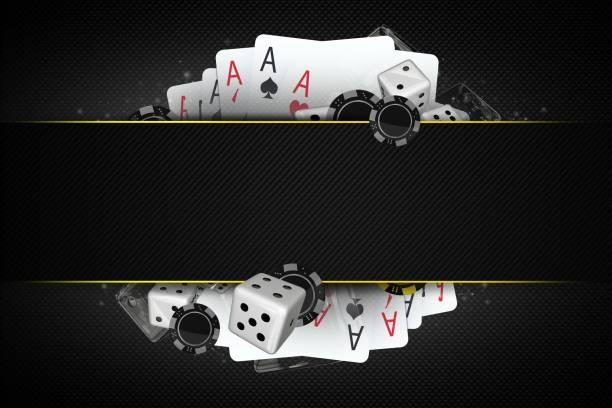 blackjack tärningar och chips - black jack bildbanksfoton och bilder