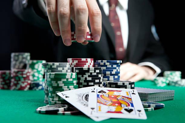 blackjack in a casino - black jack bildbanksfoton och bilder