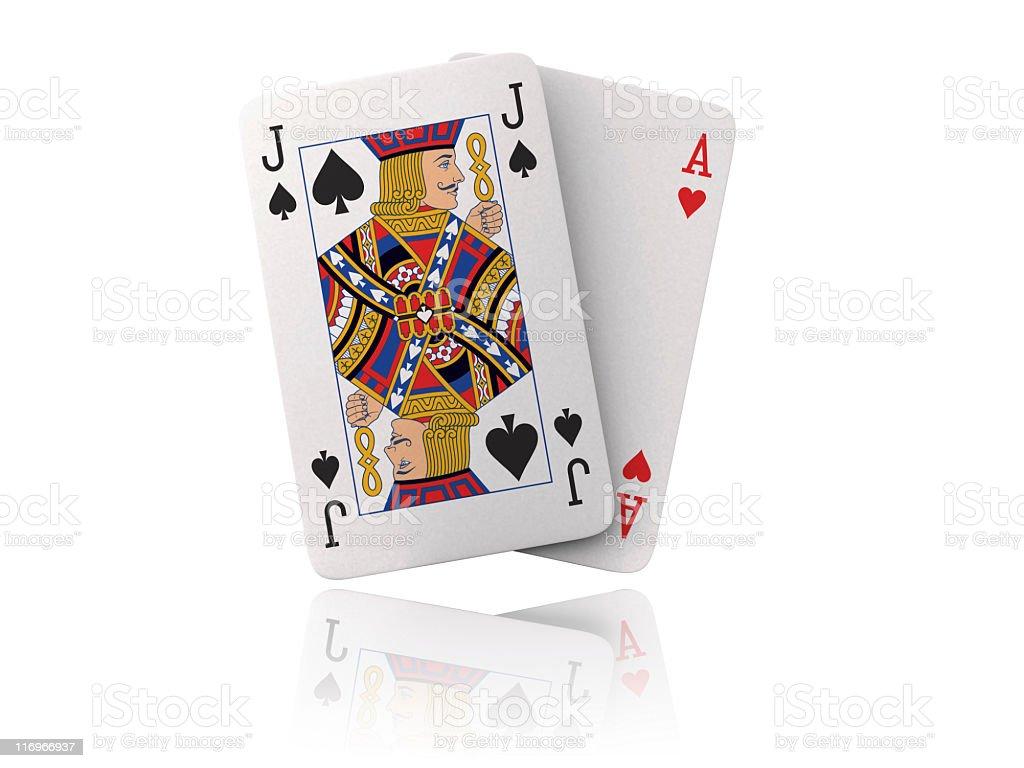 blackjack - foto stock
