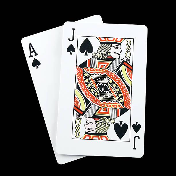 blackjack spades - black jack bildbanksfoton och bilder