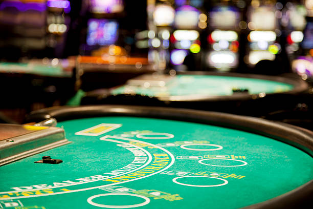 blackjack table - black jack bildbanksfoton och bilder