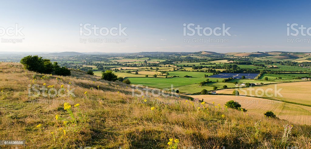 Blackmore Vale stock photo
