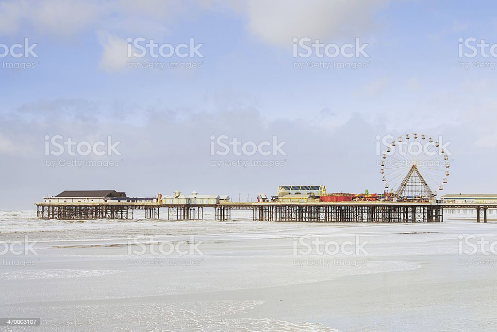 Blackpool Central Pier UK stock photo
