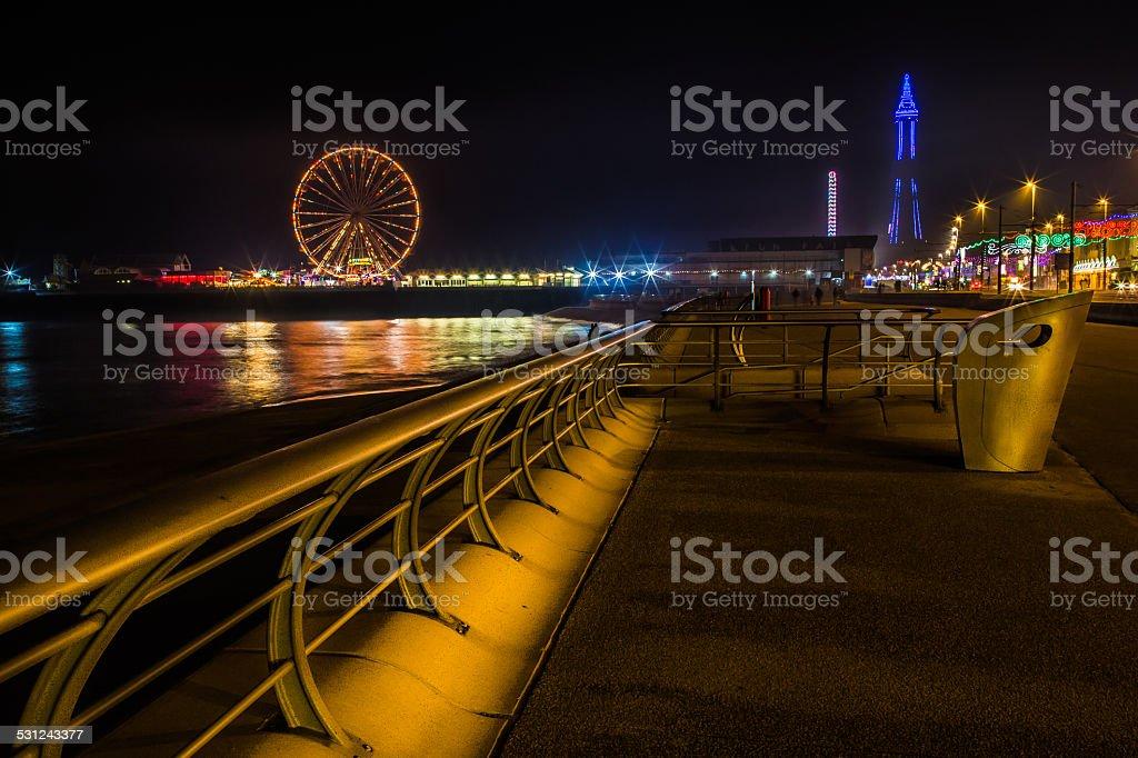 Blackpool Lights stock photo