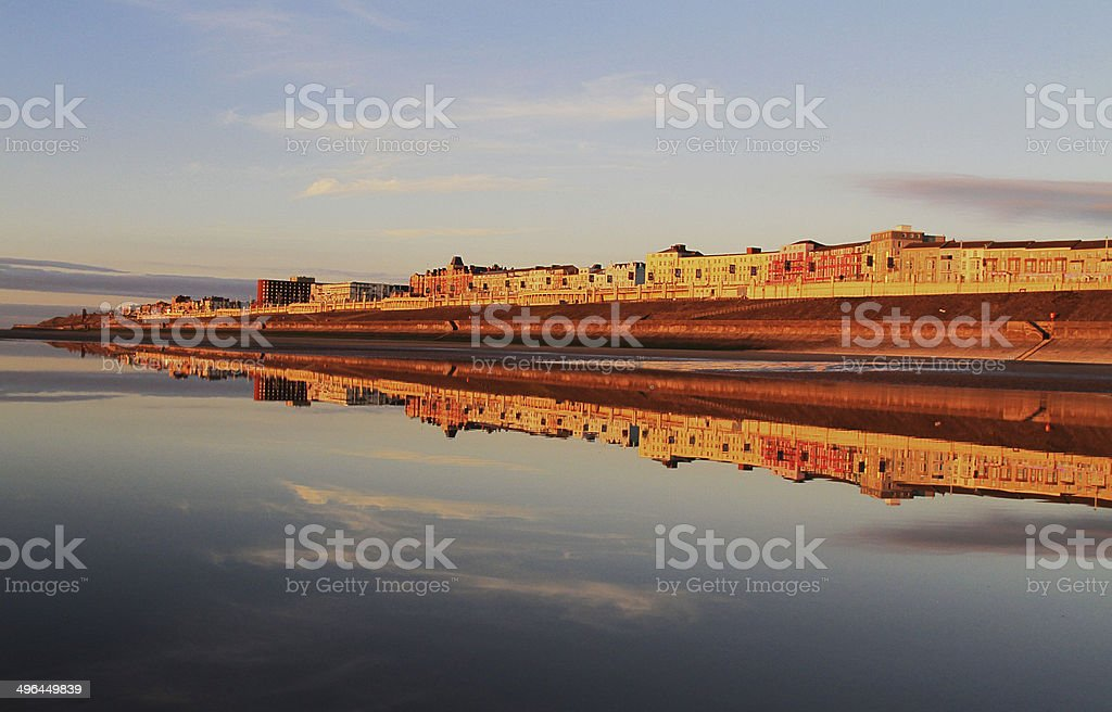 Blackpool North Shore Reflection royalty-free stock photo