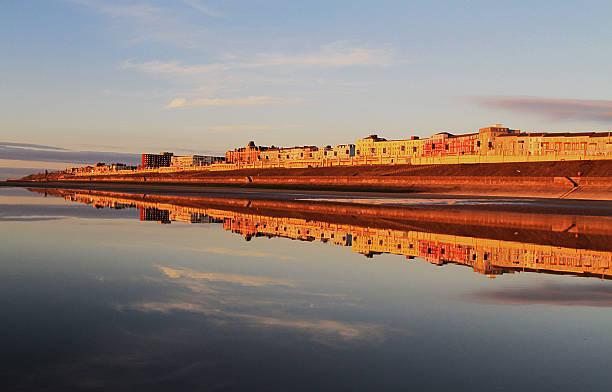 Blackpool North Shore Reflection stock photo