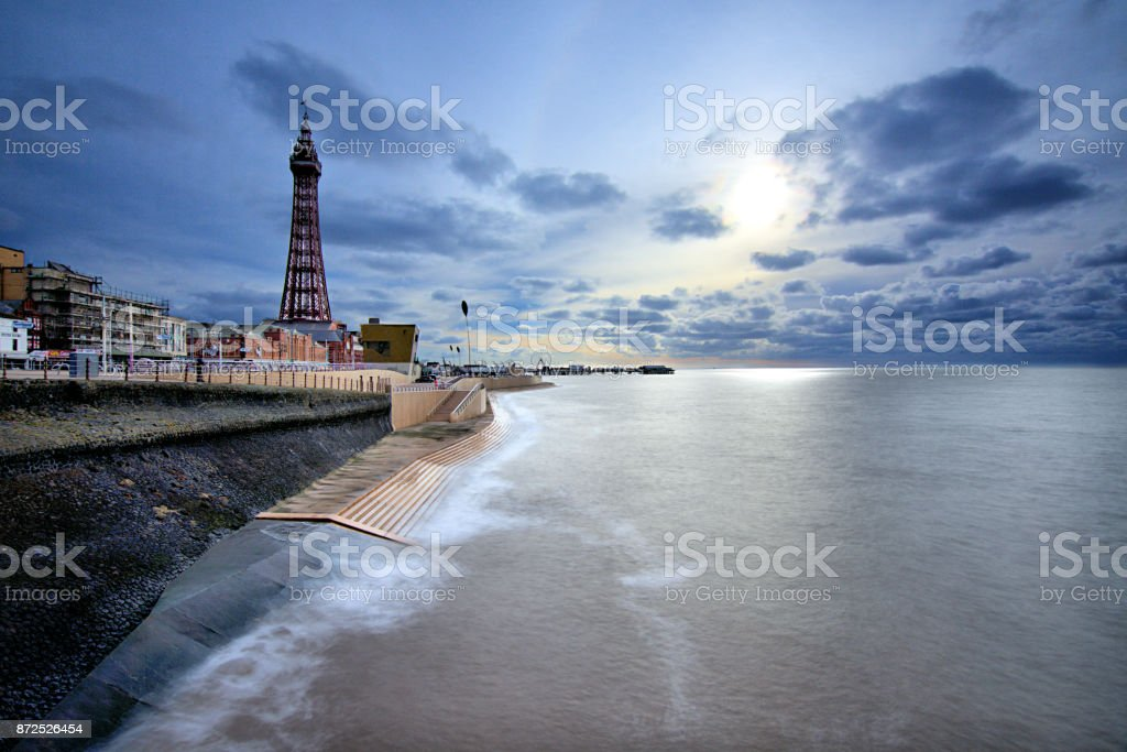 Blackpool stock photo
