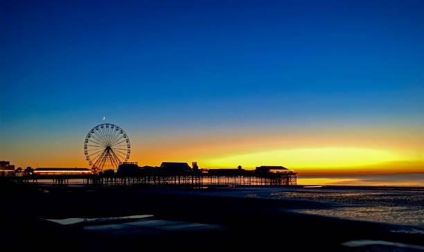 Blackpool Pier stock photo