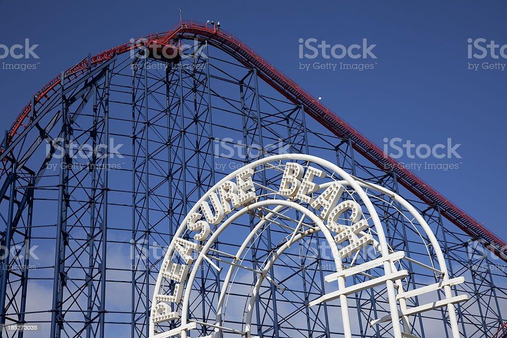 Blackpool Pleasure Beach-Achterbahn – Foto