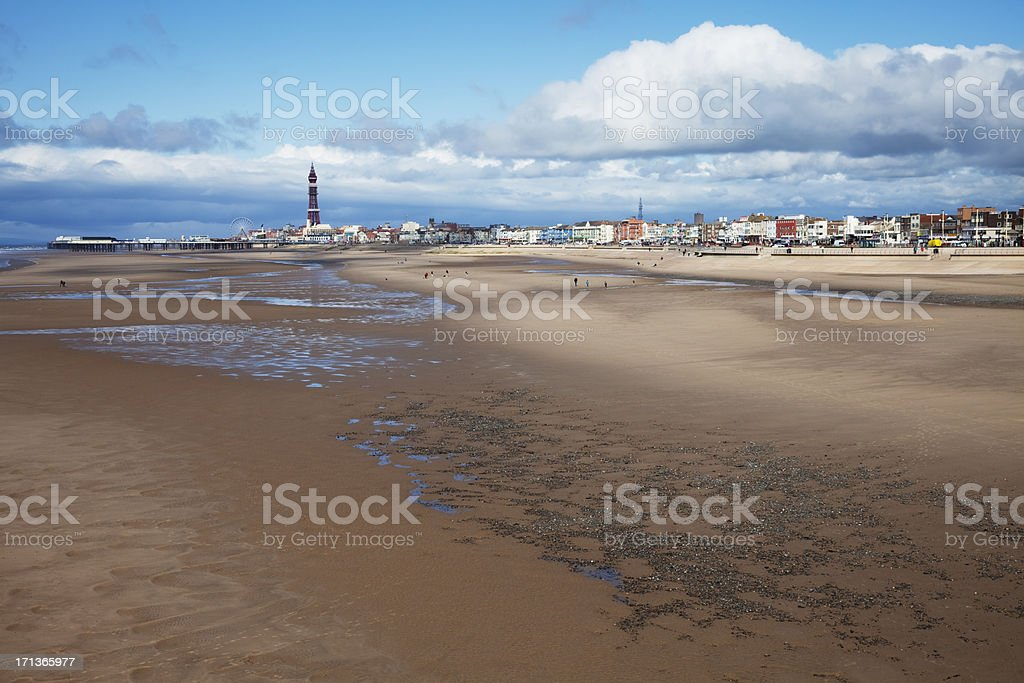 Blackpool Sands, the classic view stock photo
