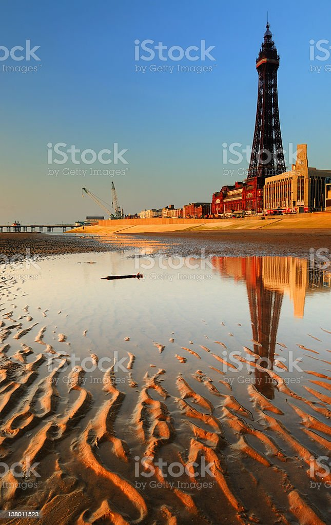 Blackpool Seafront stock photo