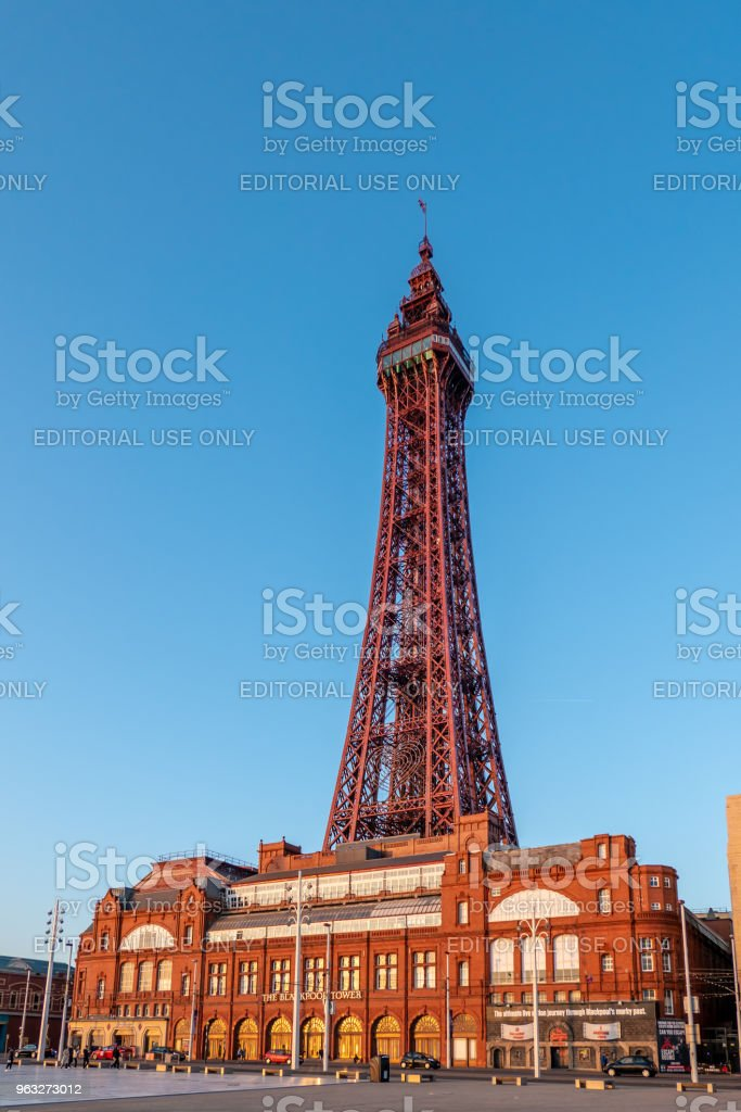 Blackpool Tower Complex stock photo