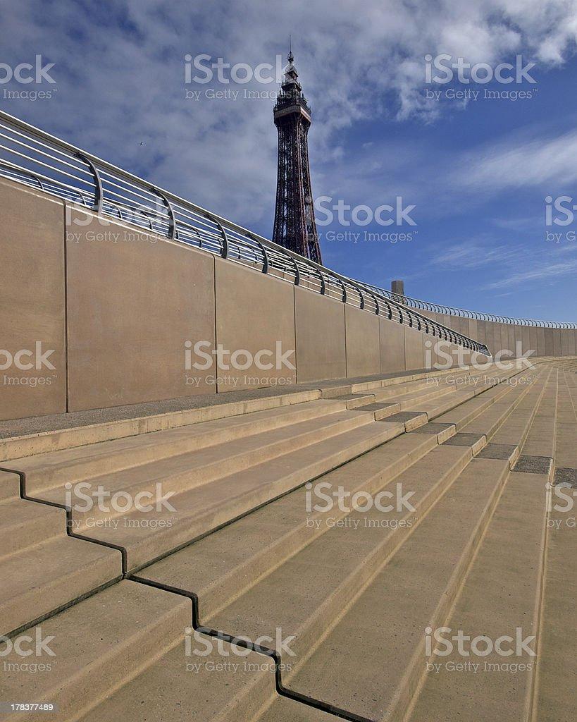 Blackpool Tower royalty-free stock photo