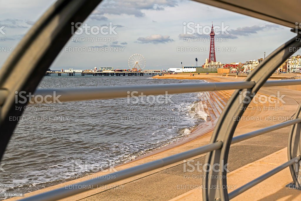 Blackpool Tower  foto stock royalty-free