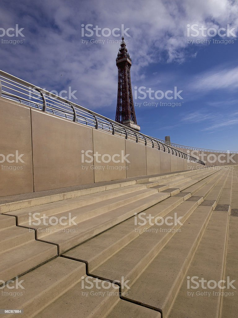 Blackpool Tower royalty-free stock photo